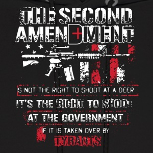 2ND AMENDMENT TEE SHIRT - Men's Hoodie