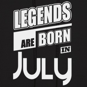 LEGENDS ARE BORN IN JULY LIMITED EDITION - Men's Hoodie