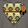 Native American Heart - Men's Hoodie