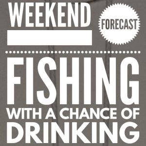 Fishing with a chance of Drinking - Men's Hoodie