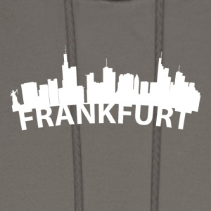 Arc Skyline Of Frankfurt Germany - Men's Hoodie