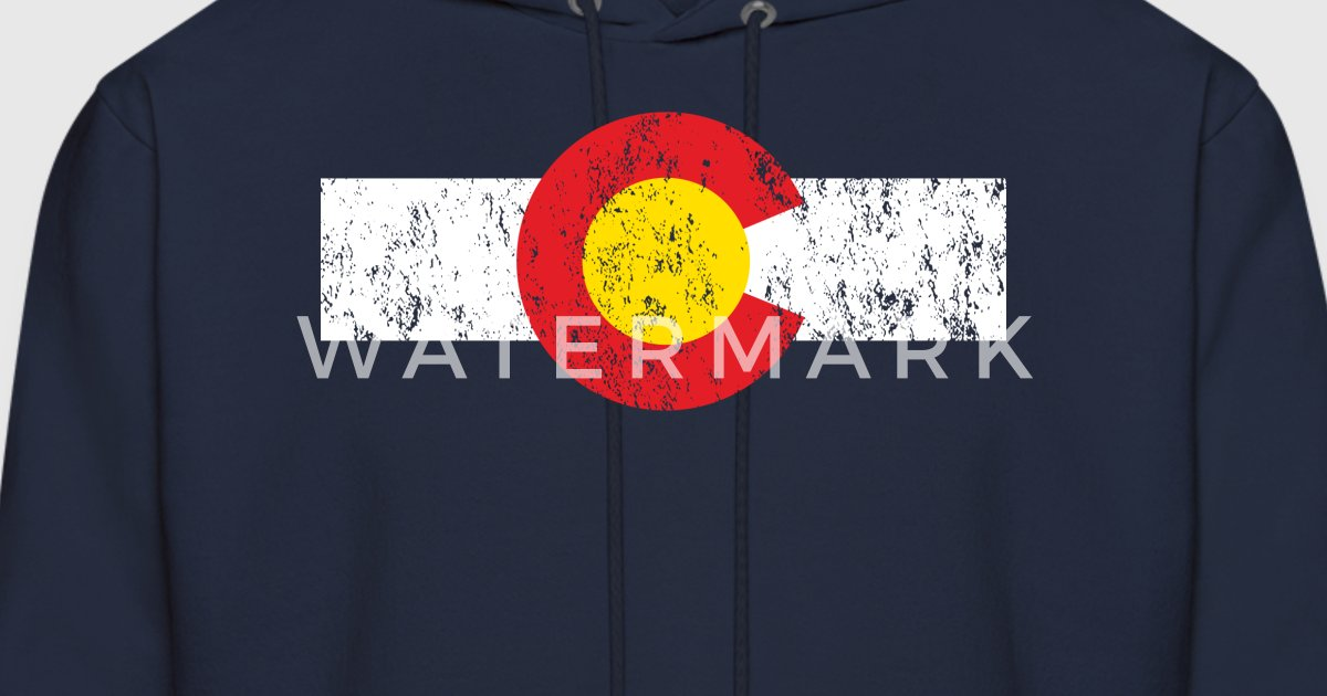Lovely Vintage Colorado Flag by colorhouse | Spreadshirt QY37