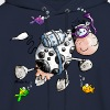 Diving Cow Cartoon Shirt - Men's Hoodie