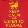 Keep calm and listen to Reggae - Men's Hoodie