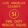 Squad 51 EMERGENCY! Men's Heavyweight T-shirt - Men's Hoodie