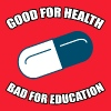 Good for Health - Bad for Education - Men's Hoodie