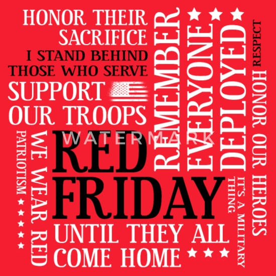 best sneakers 7f259 482c2 Red Friday Support Our Troops Military Word Cloud Men's ...
