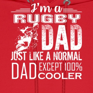 RUGBY DAD LOVE TEE SHIRT - Men's Hoodie