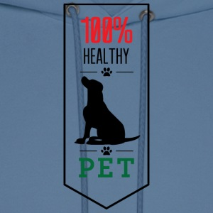 100 Healthy pet - Men's Hoodie