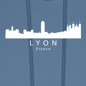 Lyon France Skyline - Men's Hoodie