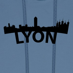 Arc Skyline Of Lyon France - Men's Hoodie