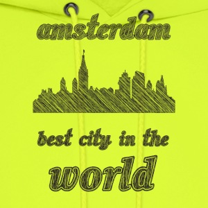 aMSTERDAM Best city in the world - Men's Hoodie