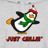 Just Chillin' Penguin Chilly Willy - Men's Hoodie