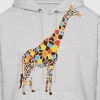 Colorful Giraffe - Men's Hoodie