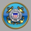 US Coast Guard (USCG) Emblem - Men's Hoodie