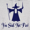 You Shall Not Pass Vector - Men's Hoodie