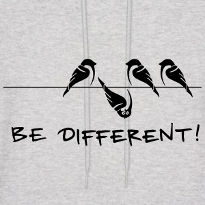 sparrow be different otherness your own way gift - Men's Hoodie