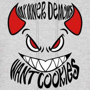 My Inner Demons Want Cookies - Men's Hoodie