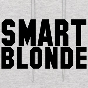 smart blonde - Men's Hoodie