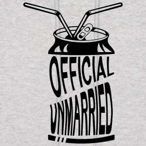 Official Unmarried Logo Design Cool T-shirt - Men's Hoodie