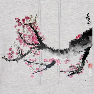 Flowering tree branch big - Men's Hoodie