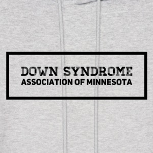Down Syndrome Association of Minnesota #1 - Men's Hoodie