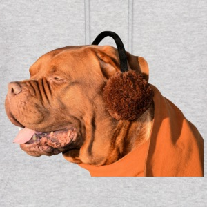 bordeaux bulldog dog bulldogge hund - Men's Hoodie