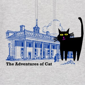 Cat Not on a Hot Tin Roof - Men's Hoodie