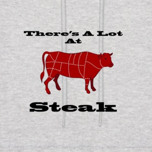 A lot at Steak! - Men's Hoodie