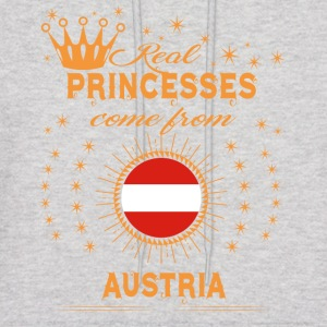 love princesses come from AUSTRIA - Men's Hoodie