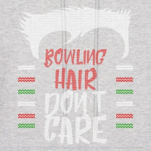 Ugly sweater christmas gift for Bowling - Men's Hoodie