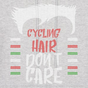 Ugly sweater christmas gift for cycling - Men's Hoodie