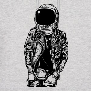 Astronaut Streetpunk. The coolest on the pitch! - Men's Hoodie