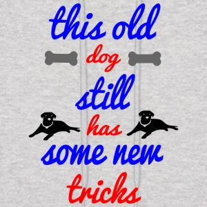 old dog new tricks - Men's Hoodie