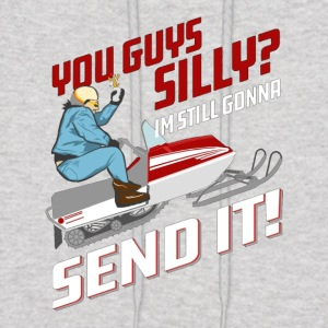 You Guys Silly I m Still Gonna Send It Larry Entic - Men's Hoodie