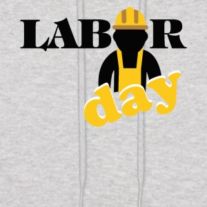 labor day shirt, Happy labor day shirt - Men's Hoodie
