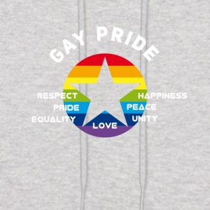 gay star pride rainbow unity perspect csd lbgt fla - Men's Hoodie