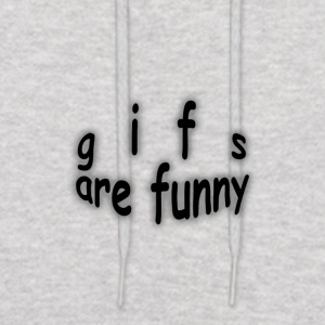 gifs are funny - Men's Hoodie
