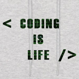 Coding Is Life - Men's Hoodie