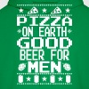 Pizza On Earth Ugly Shirt - Men's Hoodie