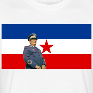 Josip Broz Tito - Fitted Cotton/Poly T-Shirt by Next Level