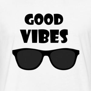 Good Vibes Shirt - Fitted Cotton/Poly T-Shirt by Next Level