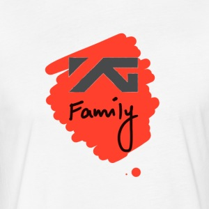YG Family - Fitted Cotton/Poly T-Shirt by Next Level