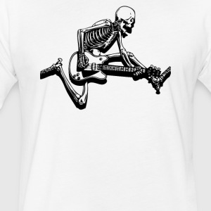 Skelguijump - Fitted Cotton/Poly T-Shirt by Next Level