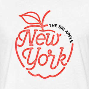 The Big Apple New York - Fitted Cotton/Poly T-Shirt by Next Level