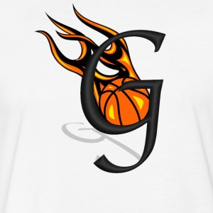 G Flames - Fitted Cotton/Poly T-Shirt by Next Level
