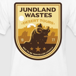 JUNDLAND WASTES - Fitted Cotton/Poly T-Shirt by Next Level