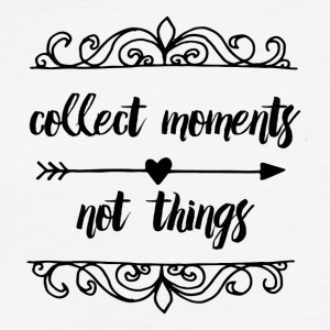 collect_moments_not_things - Fitted Cotton/Poly T-Shirt by Next Level