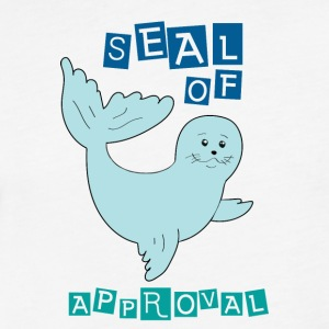 seal of approval - Fitted Cotton/Poly T-Shirt by Next Level