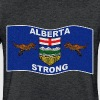 ALBERTA STRONG - Fitted Cotton/Poly T-Shirt by Next Level